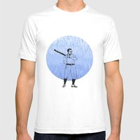 Baseball-The Boys of Summer   Mens Fitted Tee White SMALL