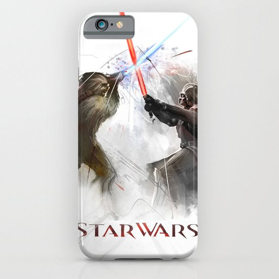 Star wars duel  iPhone & iPod Case