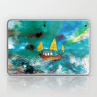 Come And Sail With Me Th… Laptop & iPad Skin
