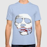Why So Serious? Mens Fitted Tee Tri-Blue SMALL