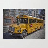 Cheese Wagon Canvas Print