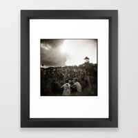 { festival } Framed Art Print