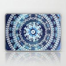 Marina Blue Mandala Laptop & iPad Skin
