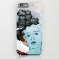 iPhone & iPod Case featuring Volcan-oh-no! by Orlagh Murphy