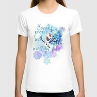 Some People Are Worth Me… Womens Fitted Tee White SMALL