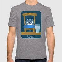 Jackson: The Chairman 2 Mens Fitted Tee Tri-Grey SMALL