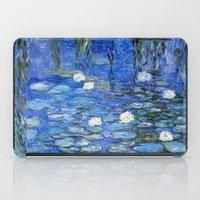 Water Lilies A La Monet iPad Case