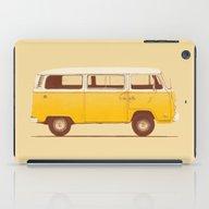 iPad Case featuring Yellow Van by Speakerine / Florent…