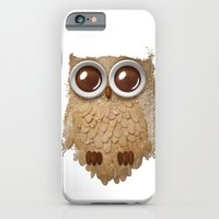 iPhone & iPod Case featuring Owl Collage #6 by Marco Angeles