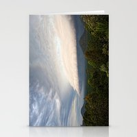 Storm clouds over Australian landscape Stationery Cards