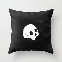 Man & Nature - The Futur… Throw Pillow