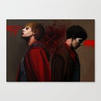 Two Sides of the Same Coin Canvas Print