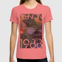 Xenon Womens Fitted Tee Pomegranate SMALL