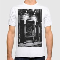 The Foggy Dew Pub Mens Fitted Tee Ash Grey SMALL