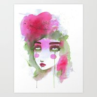 Watercolors Art Print