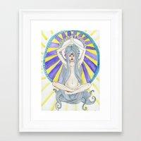 Mother God, Sister Self Framed Art Print