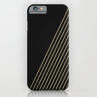 Tan & Black Stripes  iPhone 6 Slim Case