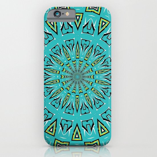 Blue Radiant Sun... iPhone & iPod Case