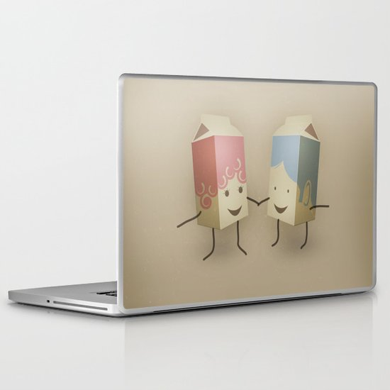 I only have pasteurised for you Laptop & iPad Skin