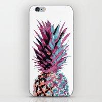 Pop Pineapple iPhone & iPod Skin