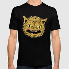 cat ghouie Mens Fitted Tee Black SMALL