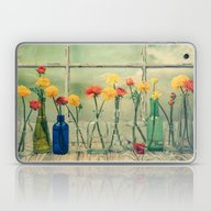 Ranunculus, Bottles And … Laptop & iPad Skin