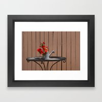 Perfect Summer Day Framed Art Print