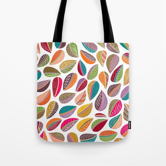 Leaf Colorful Tote Bag