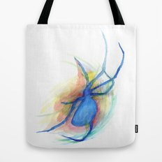 as she counted the spiders Tote Bag
