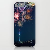 iPhone & iPod Case featuring Sparkling City by Jasmin Bogade