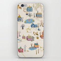 Little Village iPhone & iPod Skin