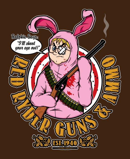 Red Ryder Guns & Ammo Art Print