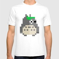 Pixel Guy Mens Fitted Tee White SMALL
