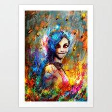 Jinx Art Print
