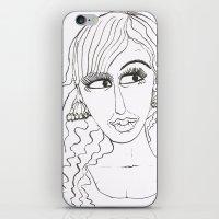 Maryja iPhone & iPod Skin