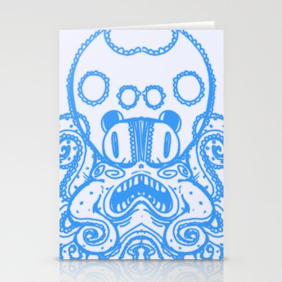 Fat Squid Stationery Card