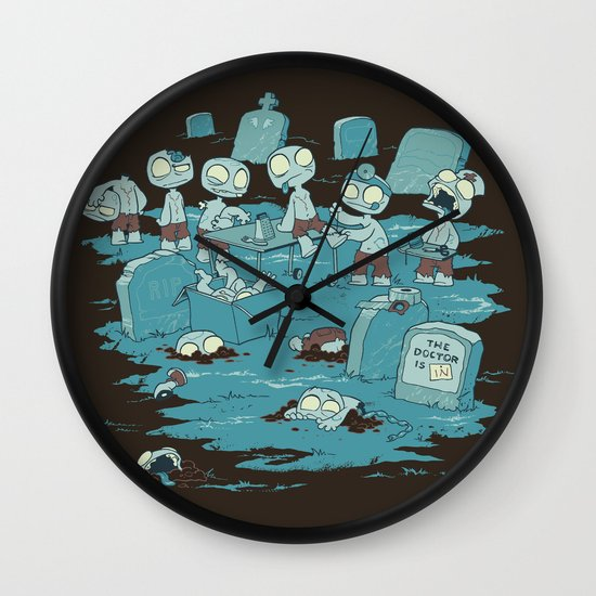 The Body Shop Wall Clock