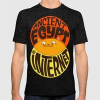 Ancient Egypt, The Inter… Mens Fitted Tee Tri-Black SMALL