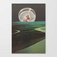 spinster Canvas Print