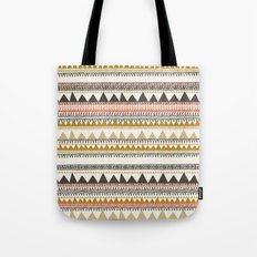 Mountain triangle pattern Tote Bag