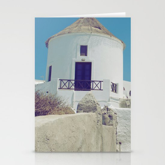Windmill House III Stationery Card