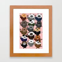 FAT CAT Framed Art Print