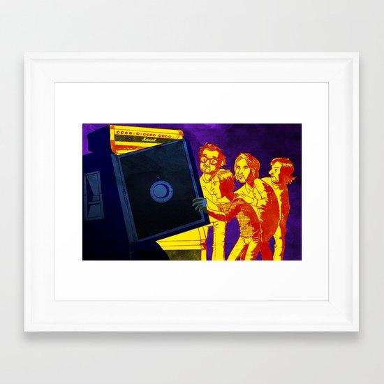 """""""Bankrupt!"""" by Dmitri Jackson Framed Art Print"""