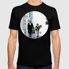 LEON, THE PROFESSIONAL Mens Fitted Tee Black SMALL