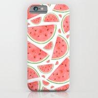Watercolour Watermelon iPhone 6 Slim Case