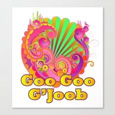 'Goo Goo G'Joob' The Fab Four Canvas Print