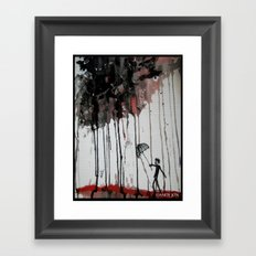 Braindrops Framed Art Print