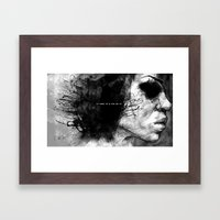 in need of movement Framed Art Print