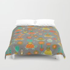Pattern Project #4 / Esio Trot Duvet Cover