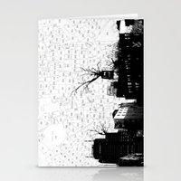 NYC Splatterscape Stationery Cards